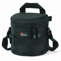 LowePro Lens case 11x11 cm Black