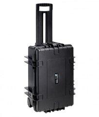 B&W Outdoor Cases Type 6700 - Zwart met Vakverdeler