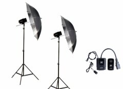 Godox Mini Pioneer 160 Watt  Paraplu Duo Kit