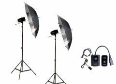 Godox Mini Pioneer 160 Watt  Paraplu Duo Kit