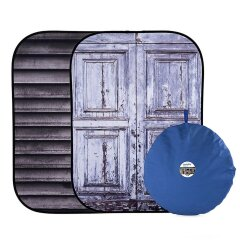 Lastolite Urban Collapsible 150x210cm  - Shutter/Distressed Door