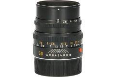 Tweedehands Leica Summicron-M 50/2.0 Black Anodized Finish Sn.:CM9191
