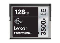 Lexar CFAST Pro 128GB 3500x speed CF kaart