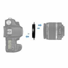 Caruba Omkeerring Sony E-mount naar 49mm