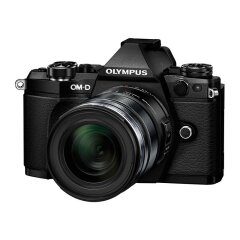 Olympus E-M5 Mark II Zwart - body + 12-50 EZ